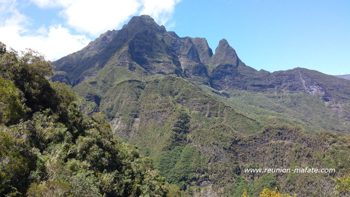 Morne de Fourche, Mafate